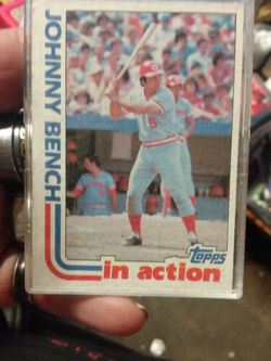 1982 Topps Johnny Bench for Sale in Yakima,  WA