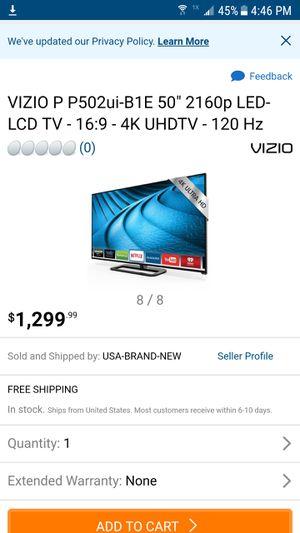 Vizio 4K UHD TV for Sale in Maynard, MA