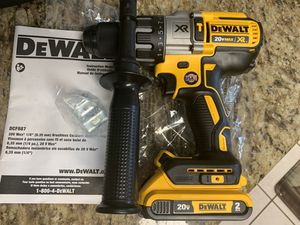 Dewalt XR 3 speed Hammer Drill w/Battery for Sale in Houston, TX