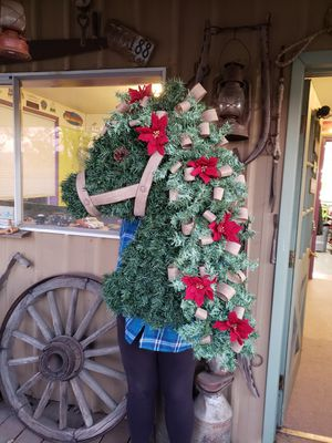 Large horse wreath for Sale in Wilsonville, OR