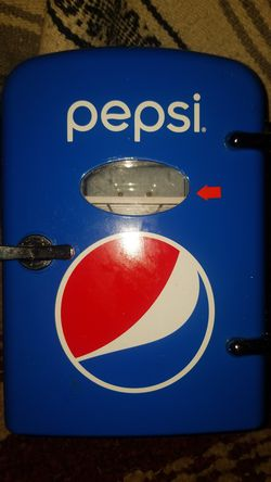 Pepsi Brand Mini Multi-Power Fridge for Sale in Kenosha,  WI