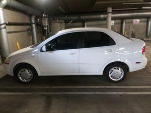 Chevy Aveo 4 door sedan(stick shift) for Sale in Santa Monica, CA