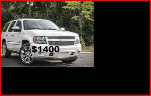 Price$1400 2008 CHEVROLET TAHOE LTZ for Sale in Seattle, WA