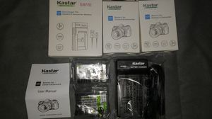 Kastar Battery (X2) & Slim USB Charger for Sony NP-FP50/FP51..(New) for Sale in La Puente, CA