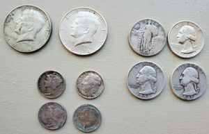 Silver coins for Sale in Boston, MA