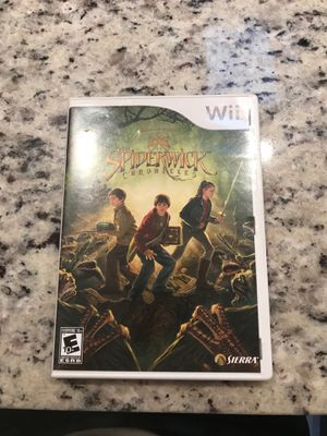 Wii Spiderwick Chronicles game for Sale in Annandale, VA