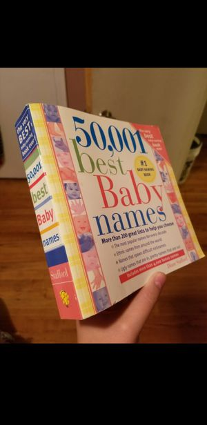 Baby name books for Sale in Florissant, MO