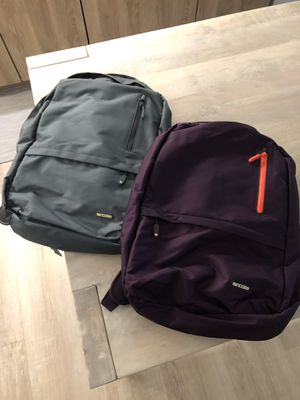 INCASE backpacks with soft built in laptop sleeve for Sale in San Francisco, CA
