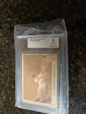 Gold Ted Williams baseball card for Sale in Federal Way, WA