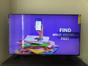 """Samsung 55"""" LED- NU6900 series 260p smart 4K UHD TV with HDR for Sale in Washington, DC"""