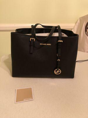 Michael Kors Black Tote Bag Purse for Sale in Springfield, VA