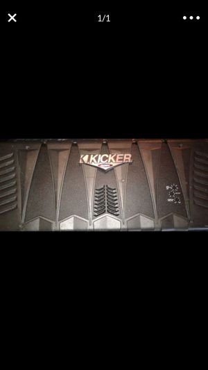 """Kicker amp and 12"""" subs combo for $550 takes it for Sale in Jersey City, NJ"""