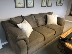 Grey Couch for Sale in Tigard, OR