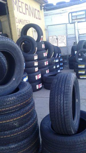 🎈hoy tenemos grandes especiales🎈 en llantas y rines nuevos en todas las medidas🎈servicio de mecánico general a/c abierto 24hrs🎈7dias for Sale in Phoenix, AZ