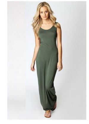 Long Maxi Dress Olive for Sale in Orlando, FL