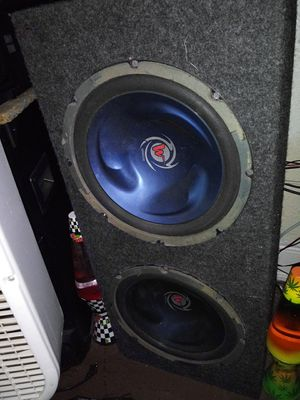 Two 12 inch Kenwood Tornados in box for Sale in Louisa, VA