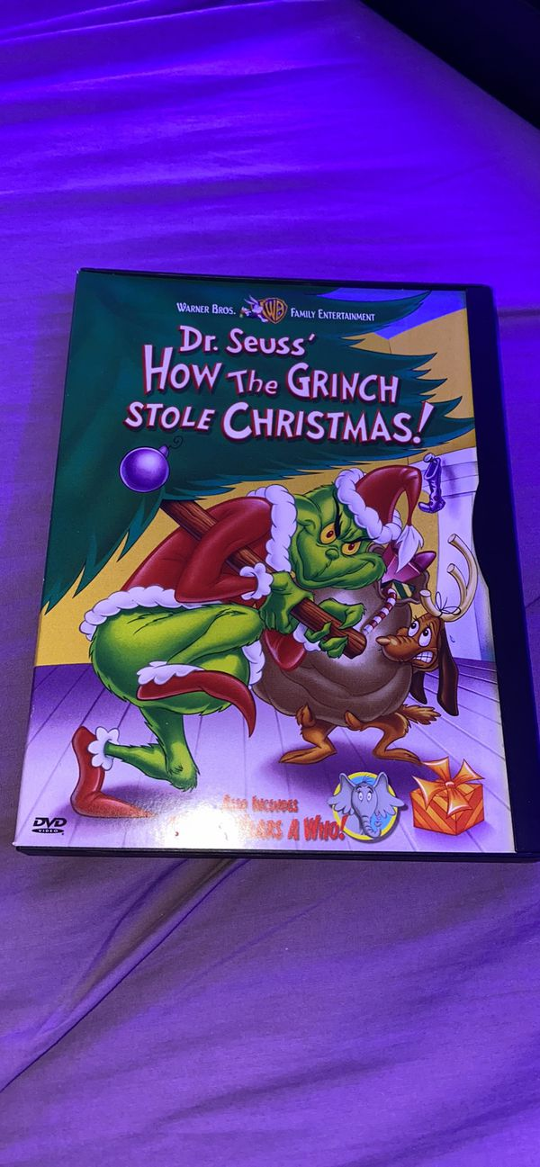 Dr. Seuss' how the Grinch stoke Christmas