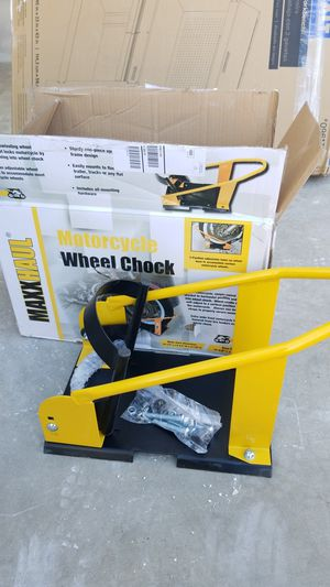 Motorcycle Chock MaxxHaul for Sale in Fontana, CA
