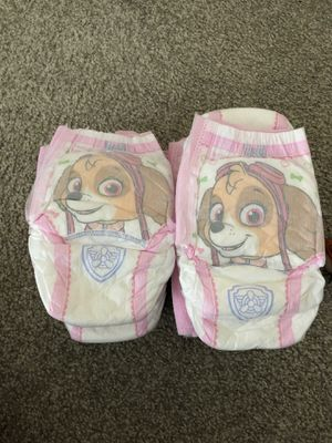 18 pull up type diaper $5 for Sale in Sunnyvale, CA