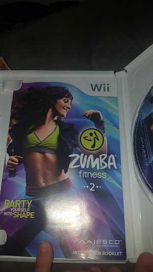 ZUMBRA fitness 2 wii game for Sale in Everett, WA