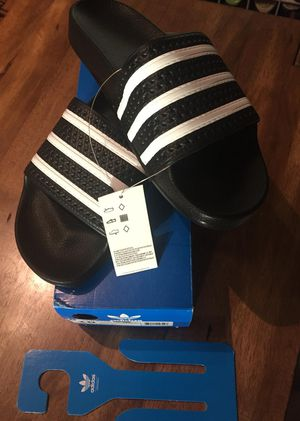 Adidas Adilette slides size 10 for Sale in Columbus, OH