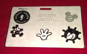 Mickey Mouse Memories January Pins Set for Sale in Houston, TX