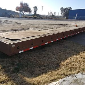 Large 35 Foot. Trailer 2 Car Hauler -equip Etc Bumper Pull for Sale in Escalon, CA