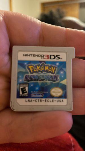 Pokémon alpha sapphire 3DS for Sale in Spokane, WA