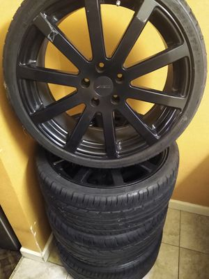 2 Sets of Rims With Tires for Sale in Nashville, TN