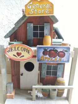 Country Store Bird House for Sale in Fresno,  CA