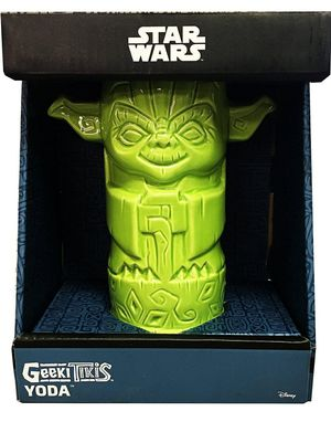 Star Wars The Mandalorian Geeki Tiki Yoda 7-Inch Tiki Glass for Sale in Wesley Chapel, FL