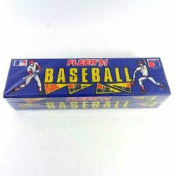 91 Fleer Baseball Cards Unopened Boxes for Sale in Everett,  WA