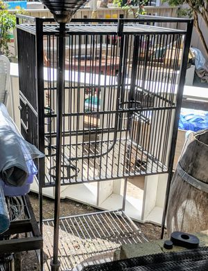 Cast Iron Bird Cage for Sale in Kenwood, CA