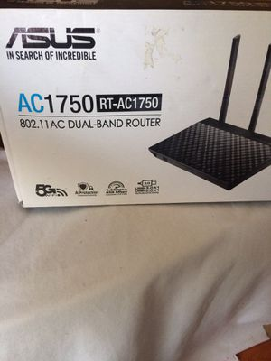 Asus 1750 RT-AC1750 Dual Band Router for Sale in Baltimore, MD