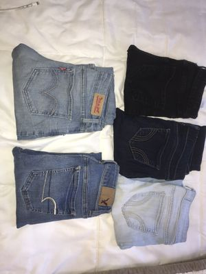 Skinny Jeans (HOLLISTER, AE, LEVIS) ($15 or other $) for Sale in Spring Valley, CA