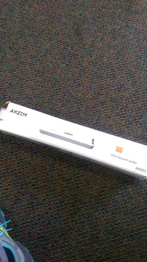 Slim vacuum sealer new open box for Sale in Riverside, CA