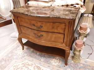 Chest with Marble Top for Sale in Farmville, VA