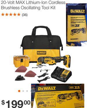 Dewalt Oscillating Tool Kit for Sale in Powder Springs, GA