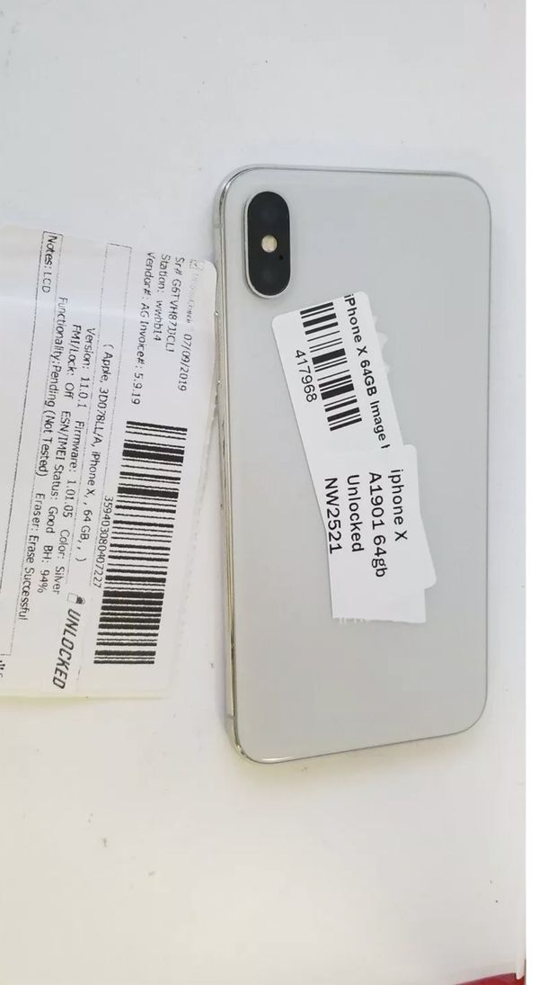 iPhone X 64GB Used Once