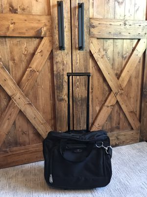 Black laptop suit case - carryon size for Sale in Seattle, WA