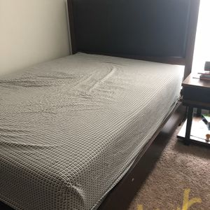 Solid Queen Bed And Bed Frame for Sale in Chesterfield, MO