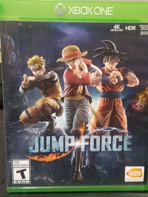 XBOX ONE JUMP FORCE for Sale in Victorville, CA