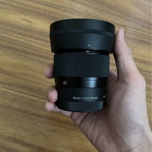 Sigma 56mm F1.4 For Sony E Mount for Sale in Colma, CA