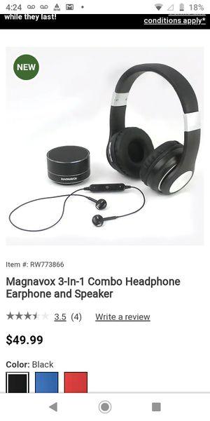 MAGNAVOX HEADPHONES,EARBUDS,SPEAKER for Sale in PA, US