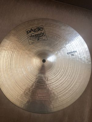 Paiste Cymbal 16 crash . Excellent condition like new. for Sale in Tracy, CA