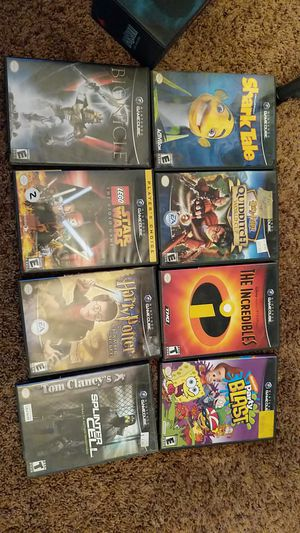 GameCube Games $5 each for Sale in Pittsfield, IL
