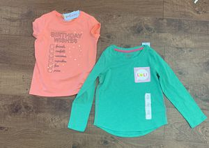 nwt girls sz 4/5 shirts for Sale in Plano, TX