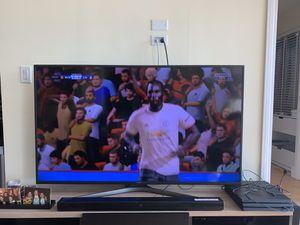 Samsung UN60KU6300 60-Inch 4K Ultra HD Smart LED TV (2016 Model) for Sale in Boston, MA