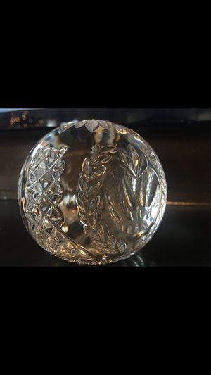 Paperweight Lead Crystal Waterford for Sale in Spring, TX