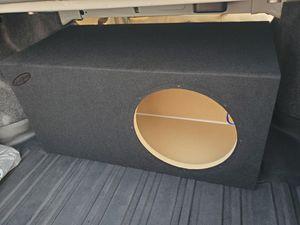 """12"""" sub box for Sale in Visalia, CA"""